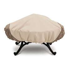 Today Sale Only Veranda Collection X Large Stand Up Fire Pit Cover in Pebble