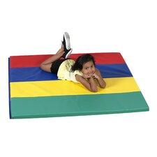 Primary Rainbow Panel Floor Mat