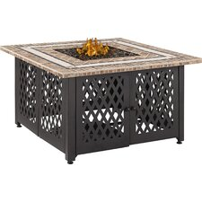 Tucson Steel Propane Fire Pit Table