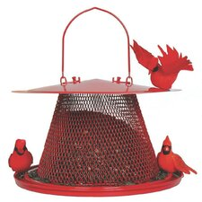 Cardinal Caged Nyjer/Thistle Feeder