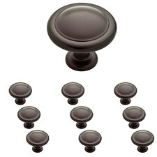 Ringed Round Knob (Set of 10)