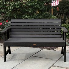 Cool Weatherly Synthetic Wood Garden Bench