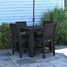 Purchase Weatherly 5 Piece Bar Height Dining Set