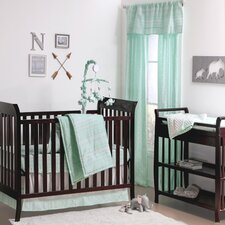 Modern Tribe 4 Piece Crib Bedding Set