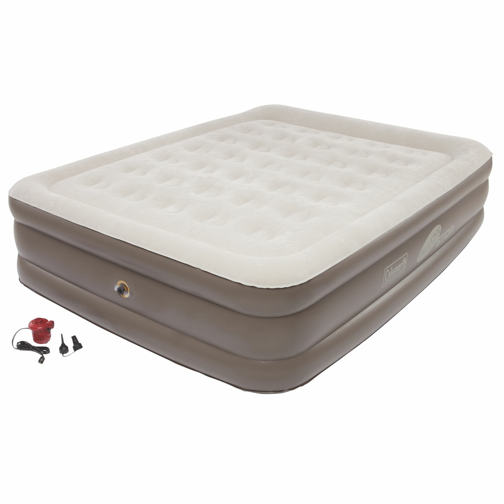 queen raised there most mattress air out intex pin downy comfortable