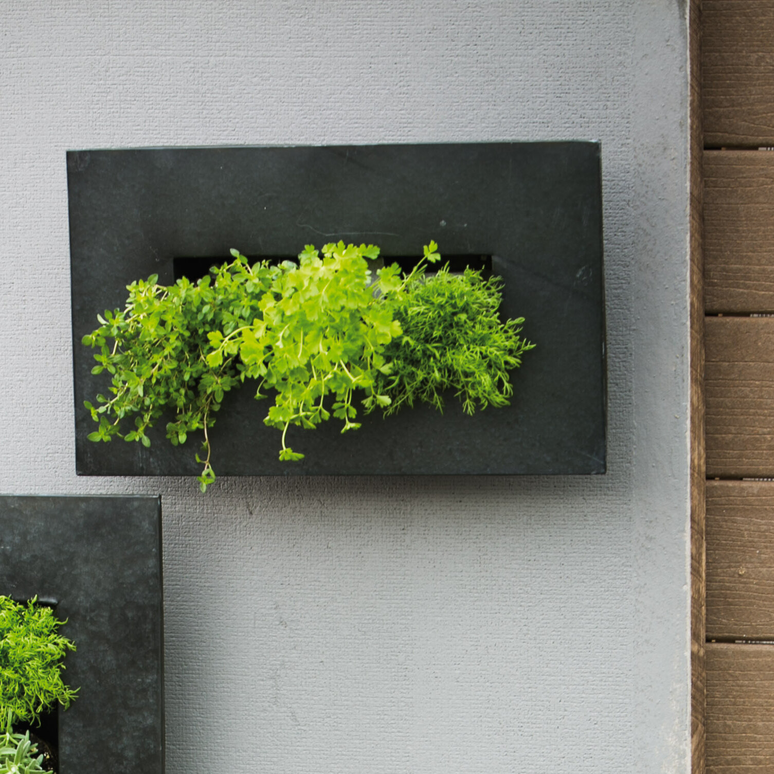 Details About Evergreen Enterprises Inc Zinc 12 Pocket Metal Wall Planter