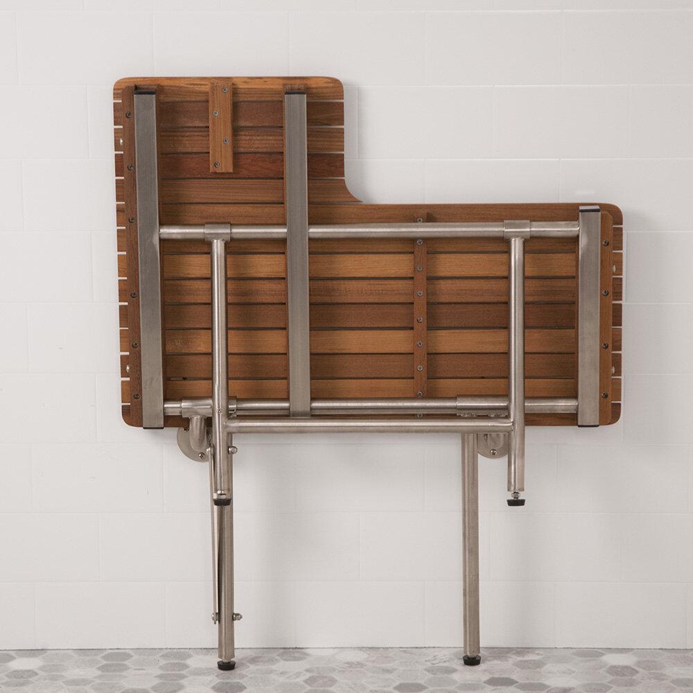 Teakworks4u Right Hand Wall Mounted Shower Seat | eBay