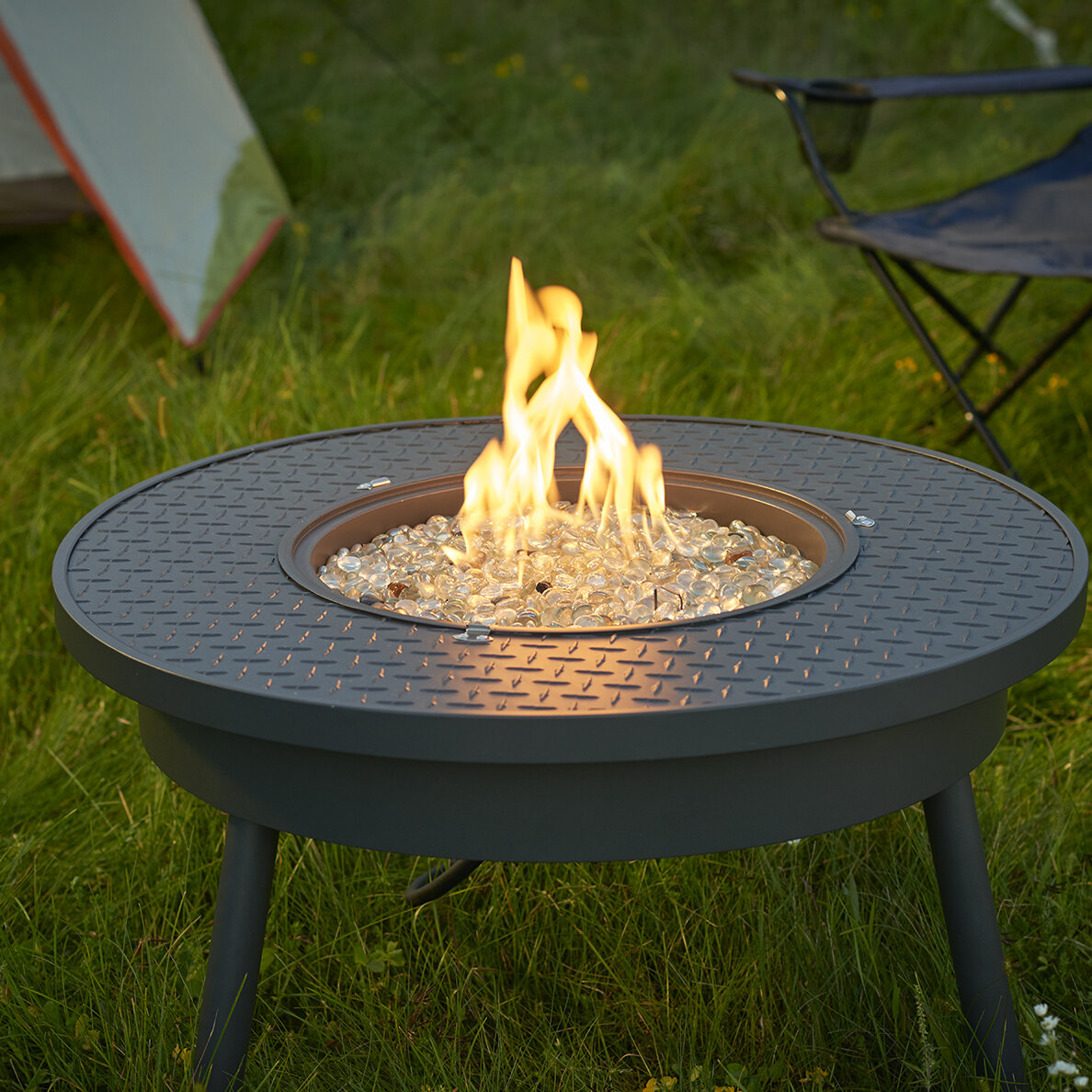 The Outdoor GreatRoom Company Renegade Steel Propane ...