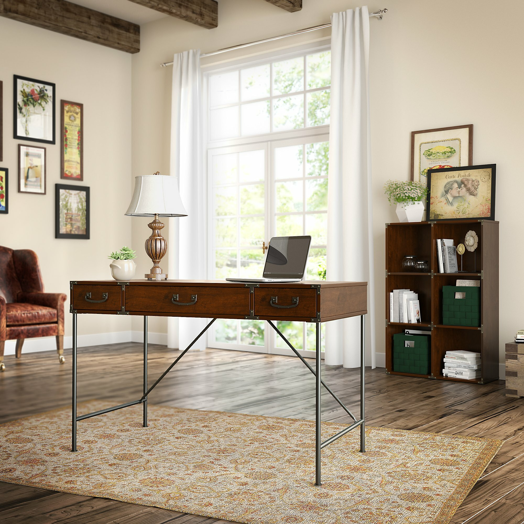 Kathy ireland office by bush ironworks 2 piece