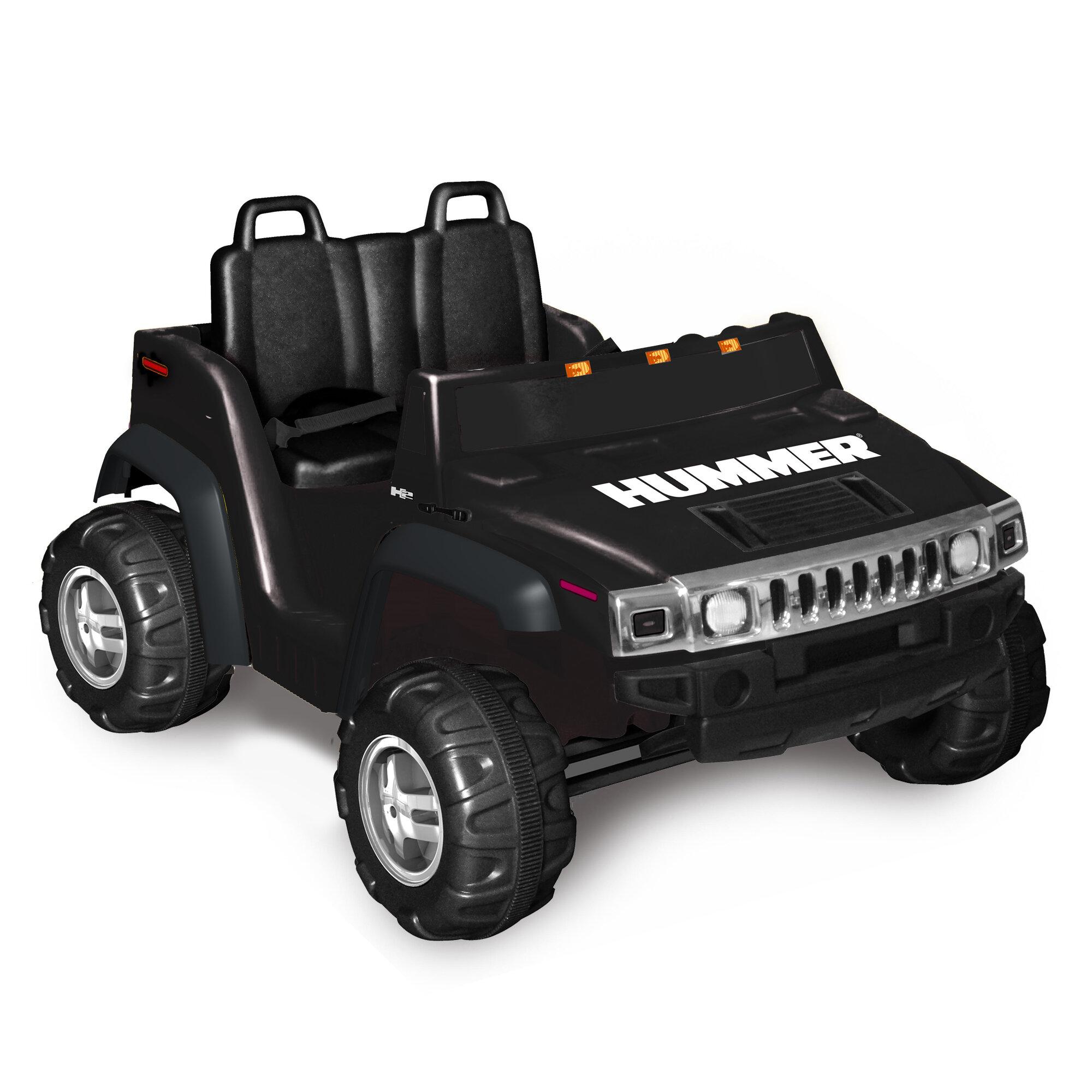 Details about Kidz Motorz Hummer H14 114V Battery Powered Jeep Black   12v hummer