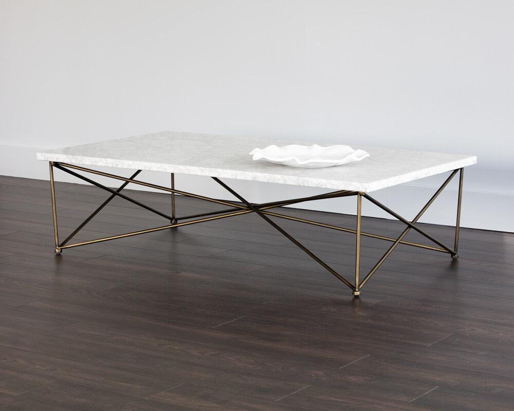 Details About Sunpan Modern Ikon Coffee Table SNPN4677