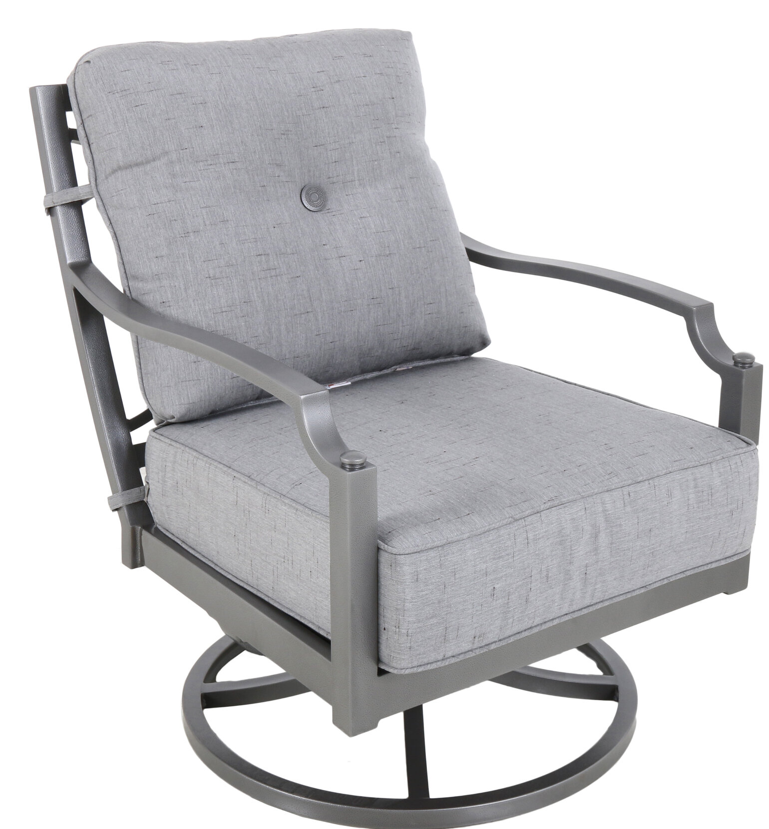 at shop set vinehaven garden steel treasures pl lowes outdoors conversation with chairs patio furniture cushions com of swivel