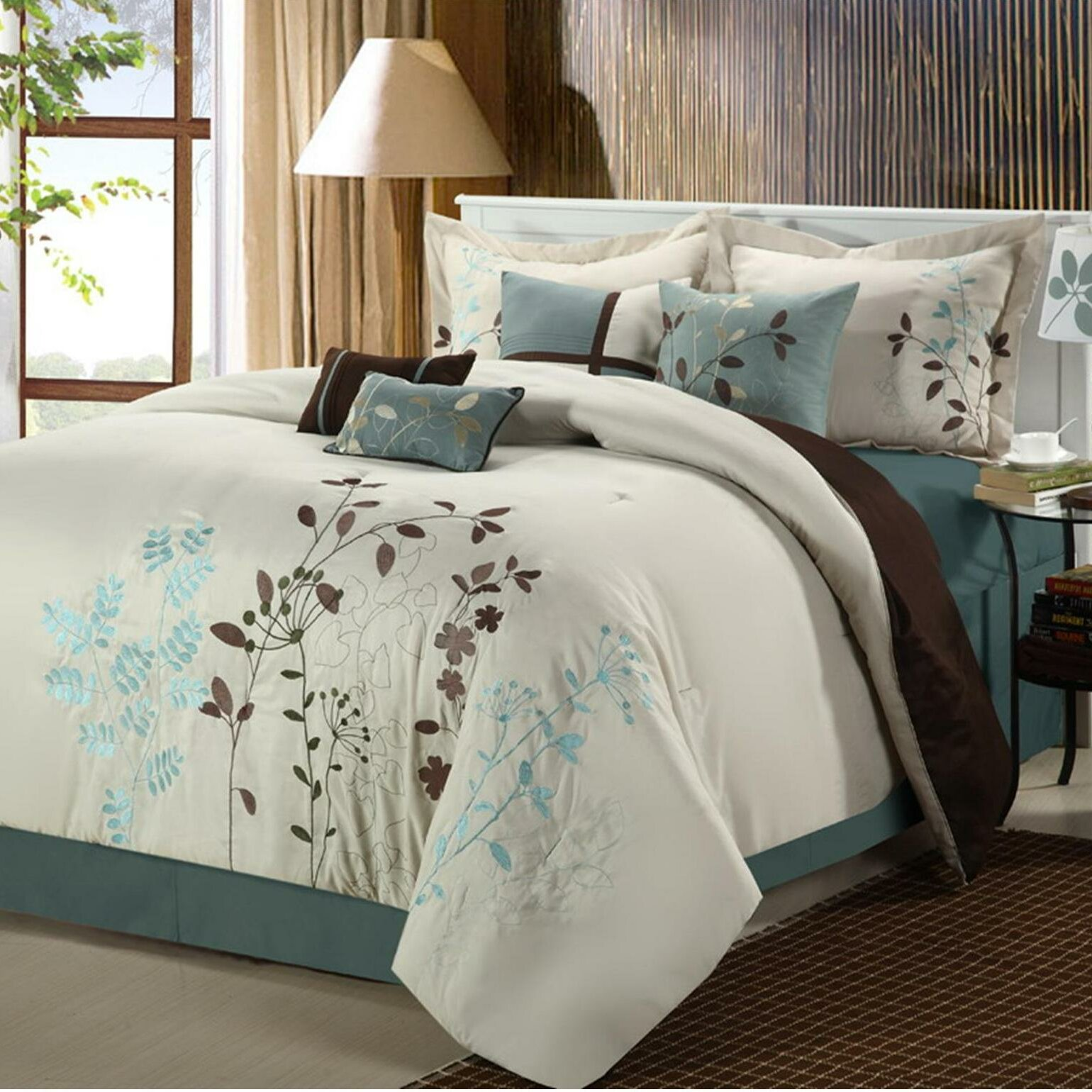 in navy lavy a teal save white bag set oasis bed luxury comforter bedding