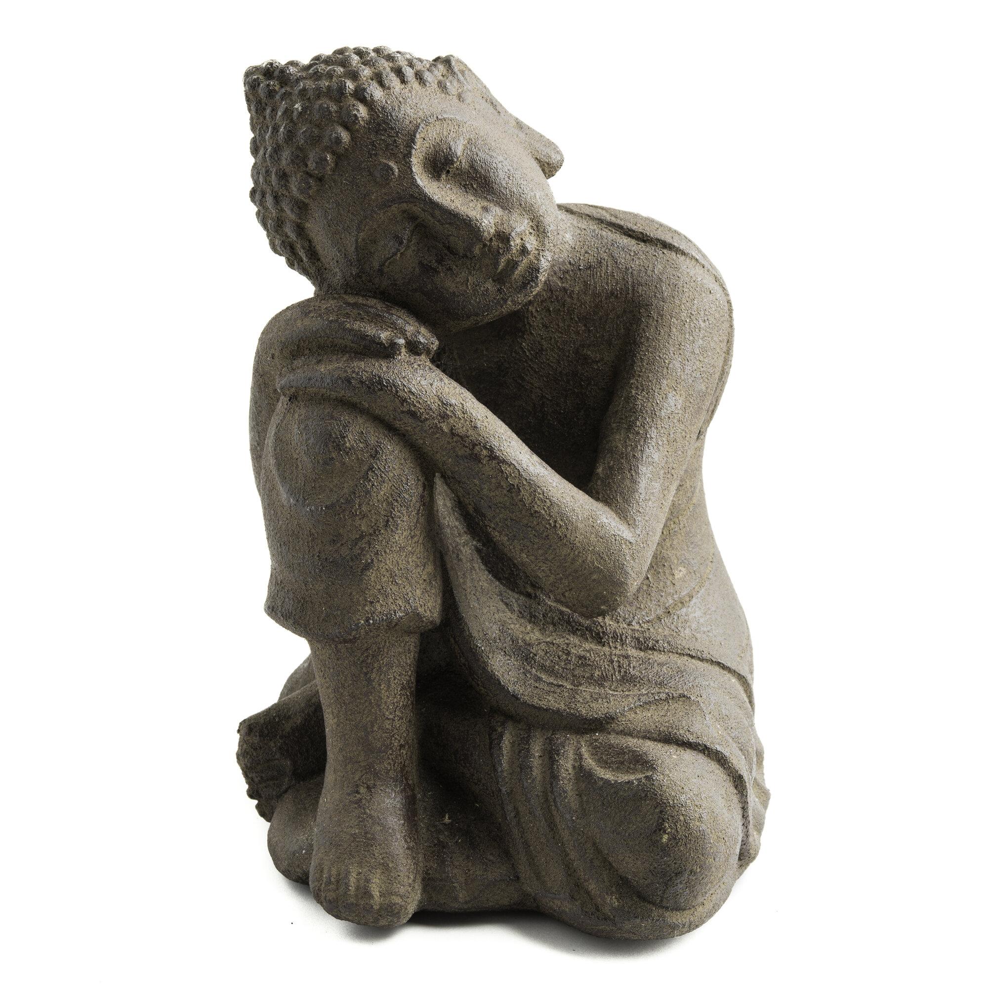 My Spirit Garden Volcanic Ash Dwelling Buddha Statue | eBay