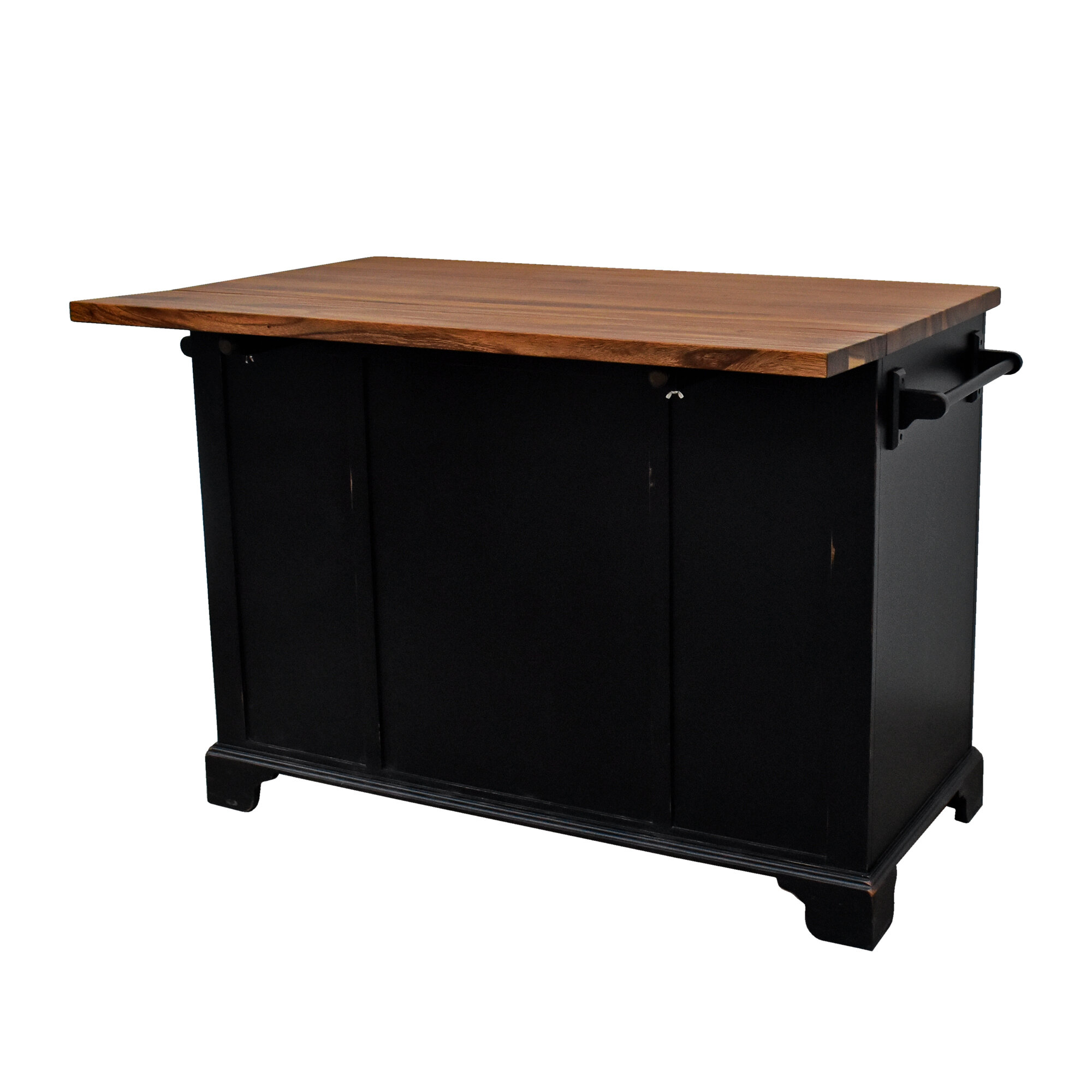 Details About Darby Home Co Gerson Drop Leaf Kitchen Island