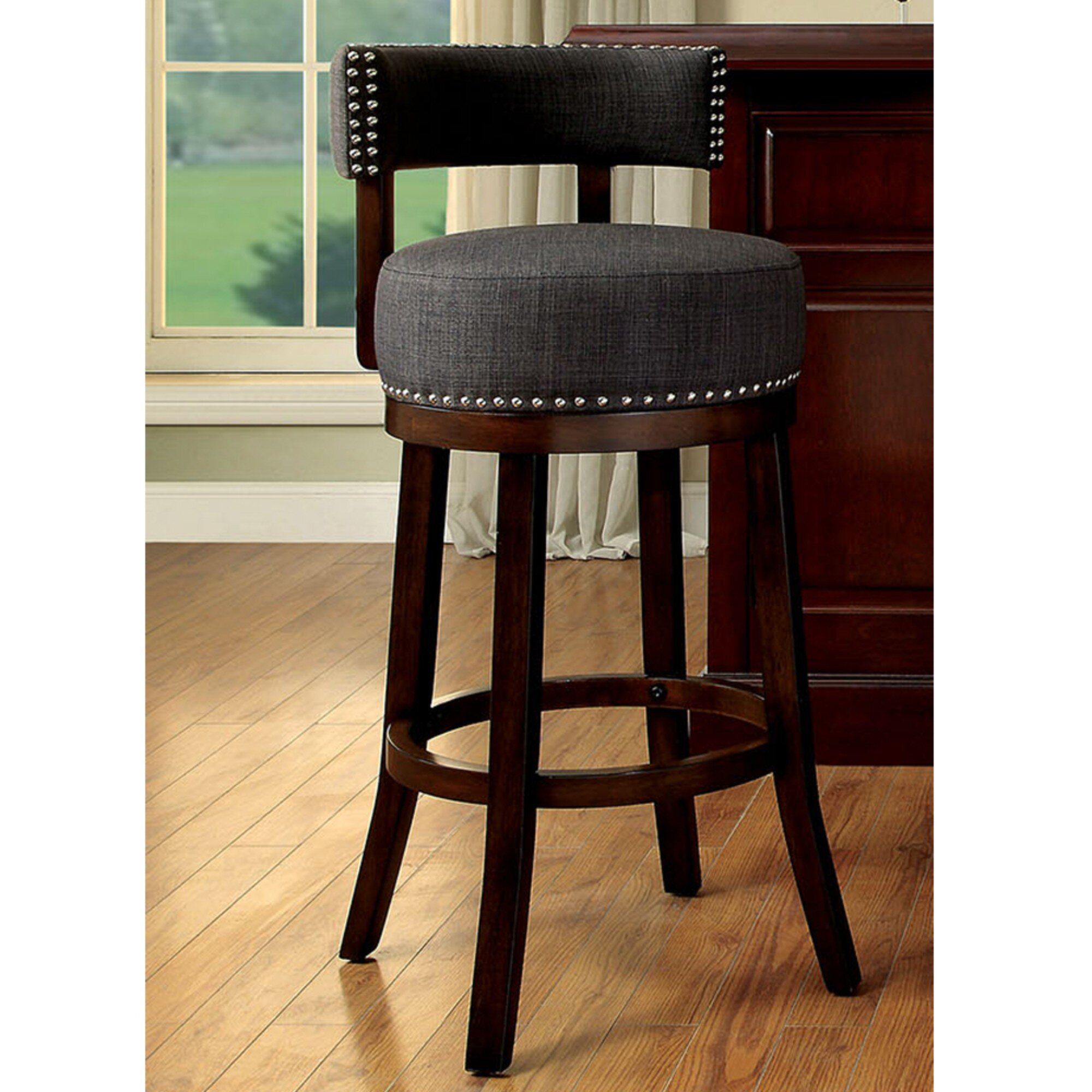 Darby Home Co Ame 24 Bar Stool Set Of 2 Ebay