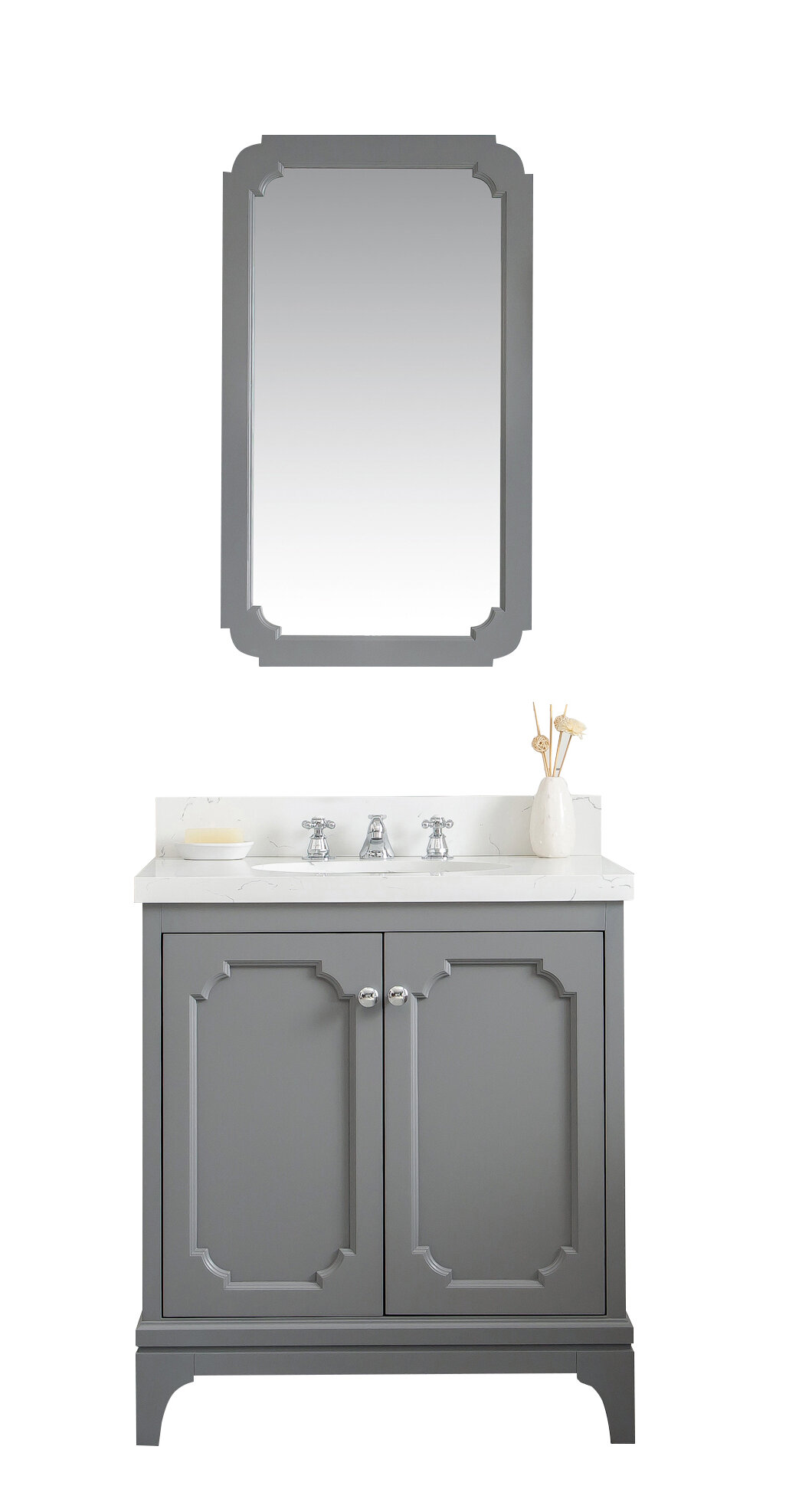 "Ebay Bathroom Vanity With Sink: Alcott Hill Kylan 30"" Single Bathroom Vanity Set"