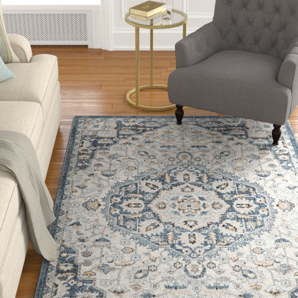 Christmas Area Rugs 8 X 10.Details About Charlton Home Christmas Power Loom Cream Blue Area Rug