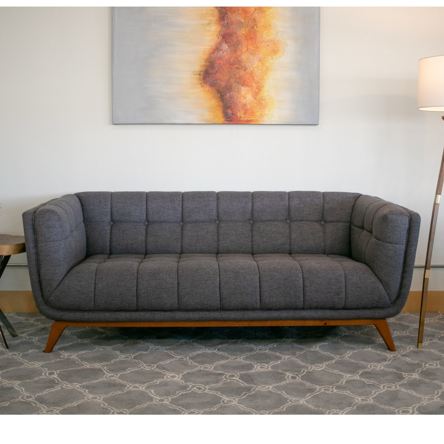 Awe Inspiring Details About Corrigan Studio Luke Mid Century Modern Sofa Cjindustries Chair Design For Home Cjindustriesco