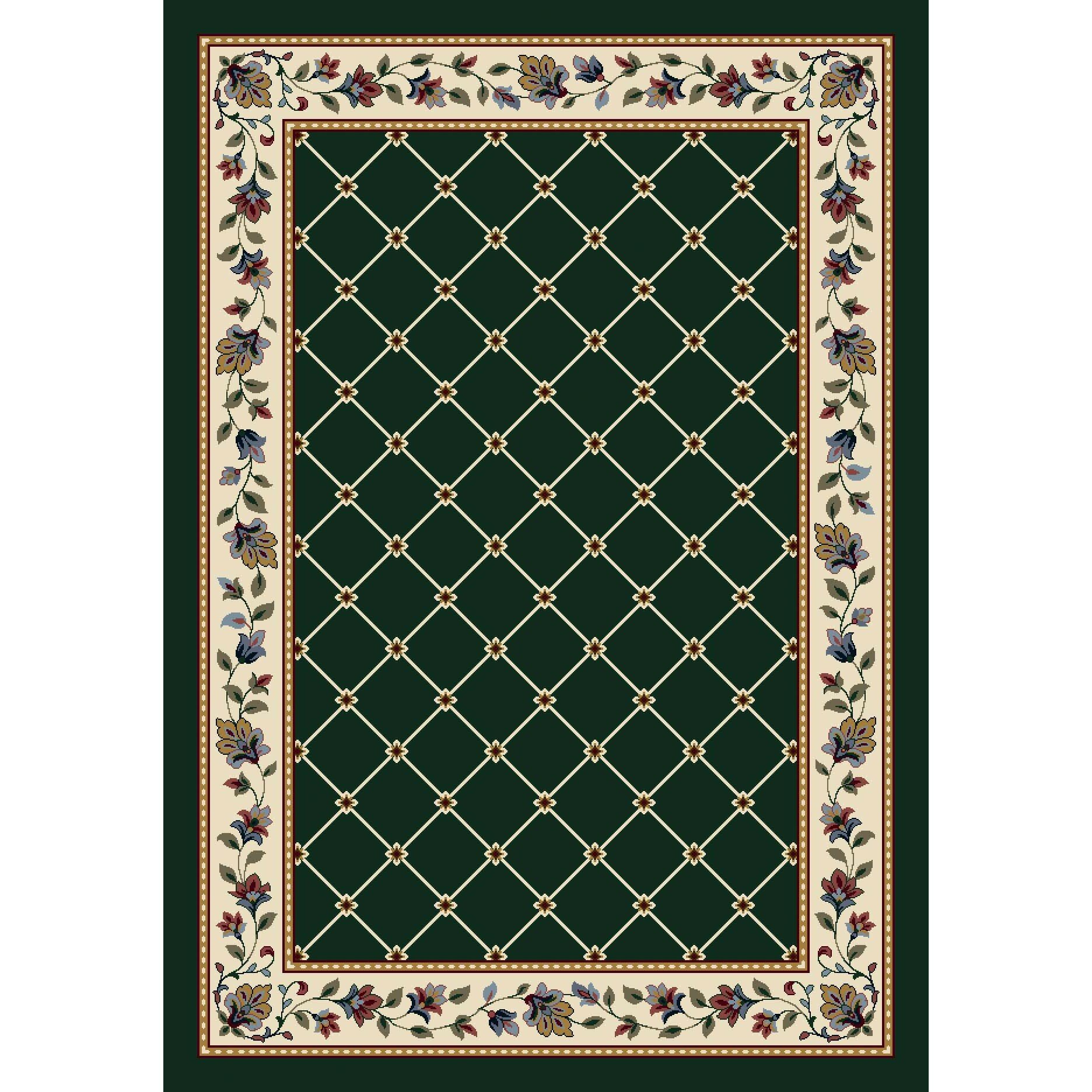 Details About August Grove Gleason Symphony Emerald Area Rug
