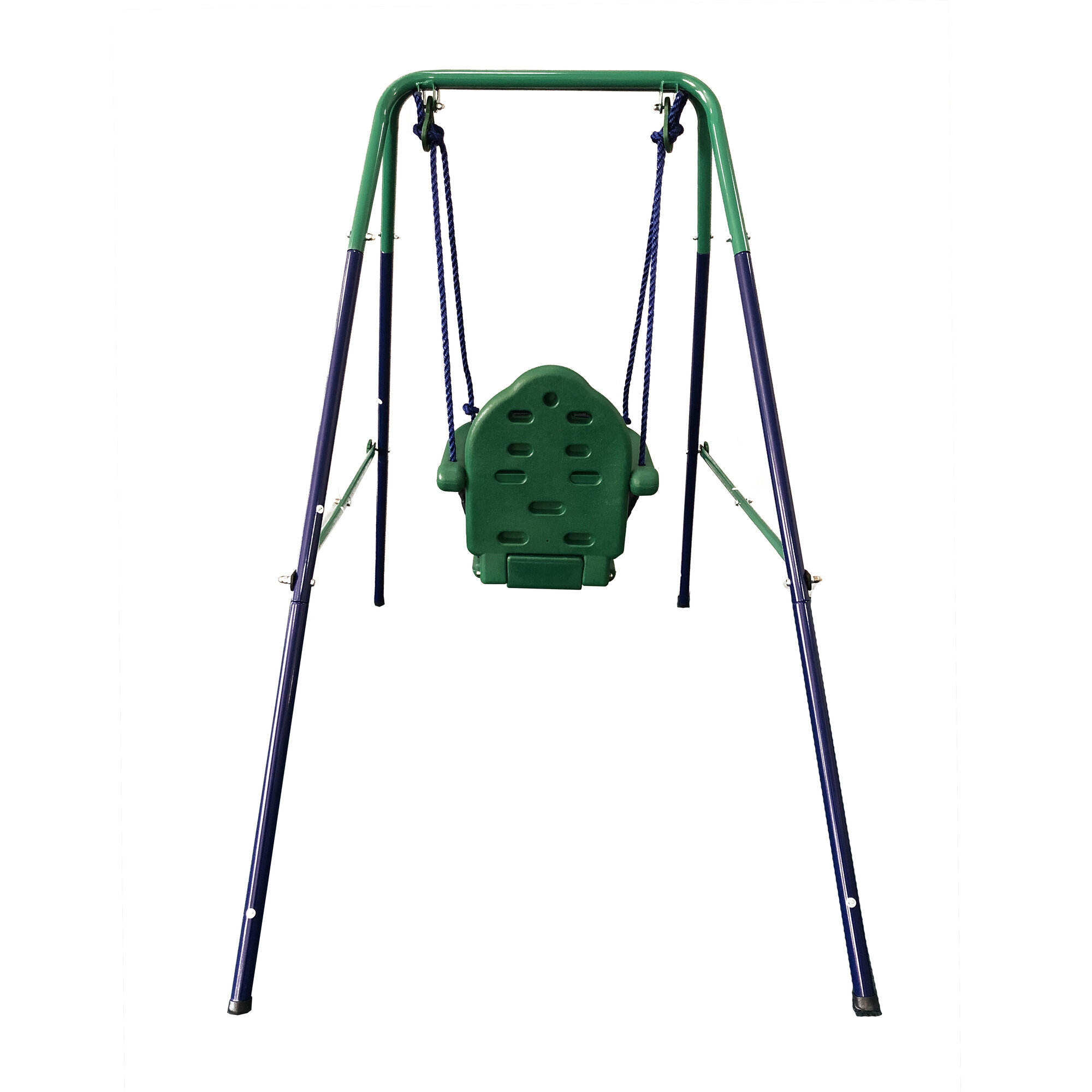 Details About Aleko Toddler Baby Swing Portable Indoor Outdoor Folding Safety Chair Playground