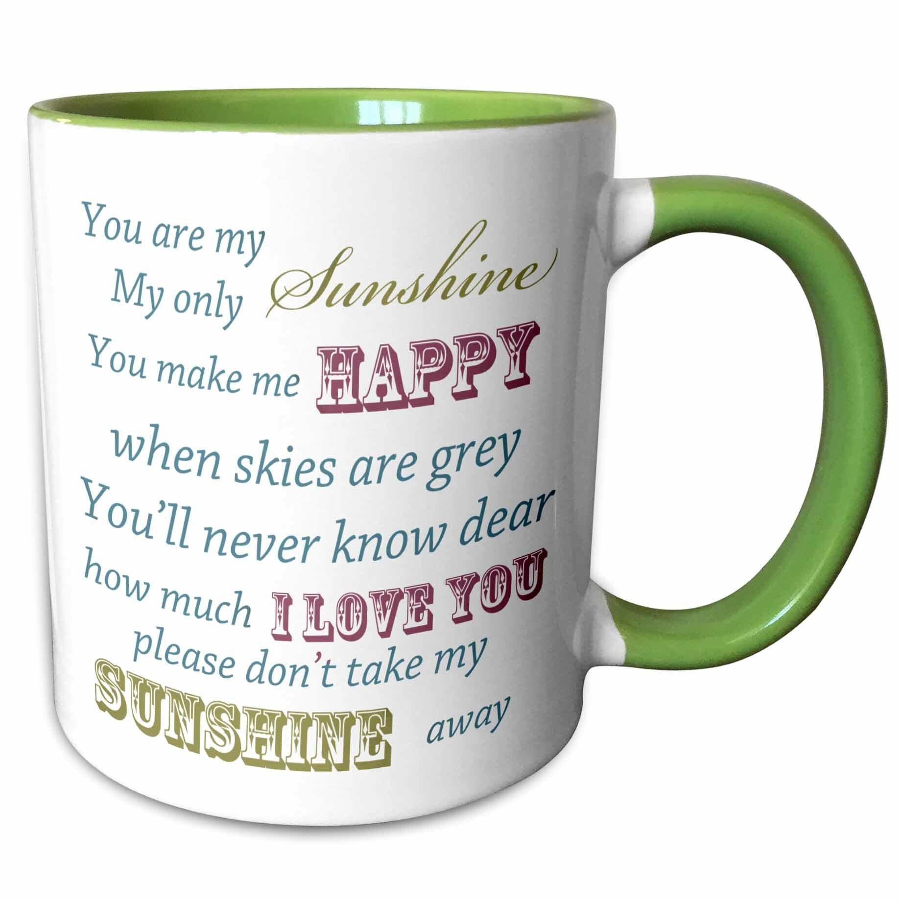 Symple Stuff Southington You Are My Sunshine Coffee