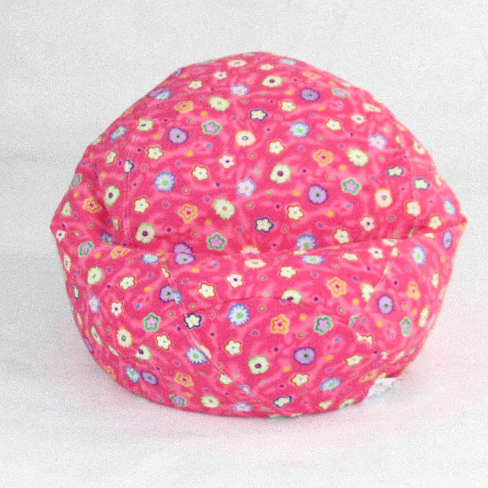 Awe Inspiring Details About Zoomie Kids Floral Bean Bag Chair Beatyapartments Chair Design Images Beatyapartmentscom