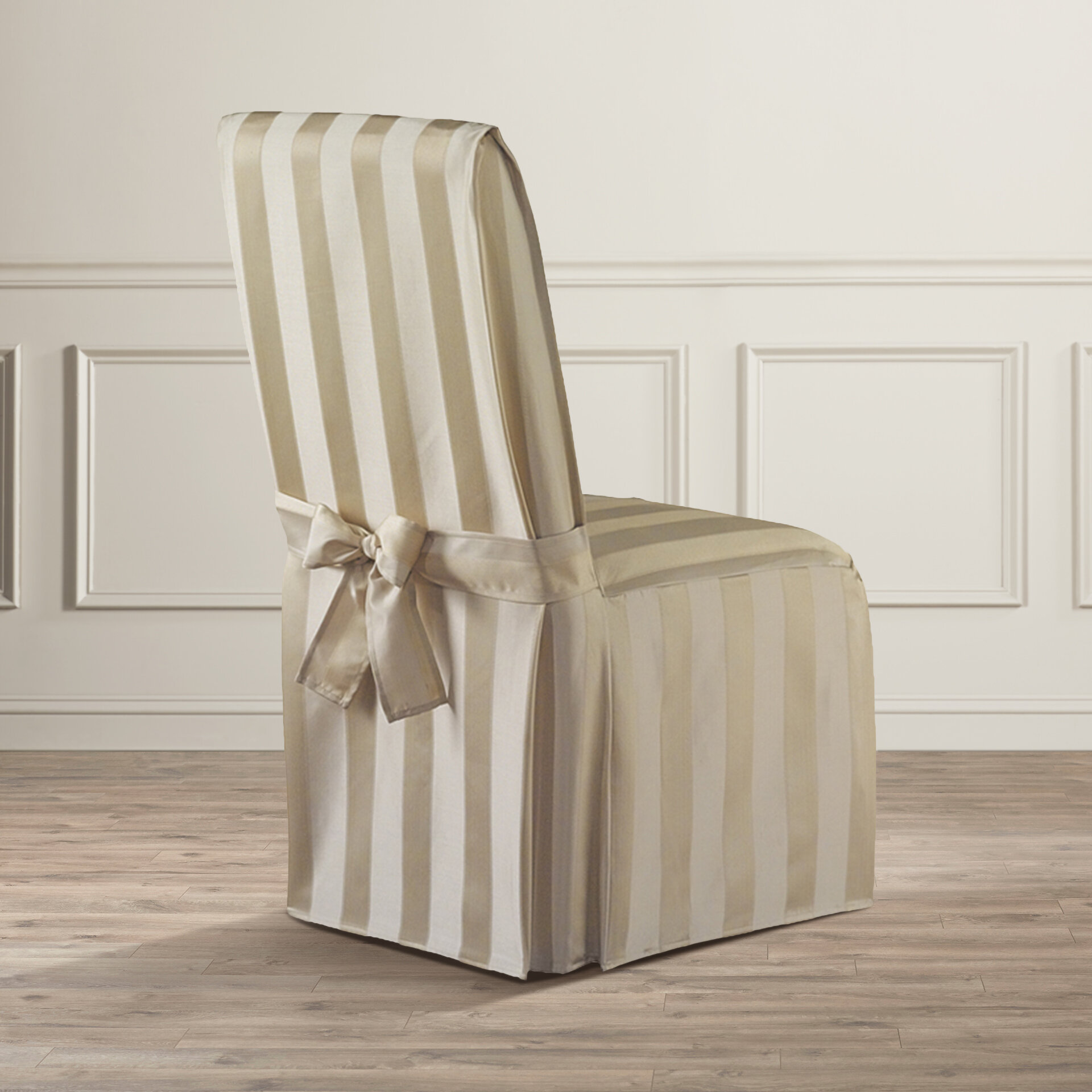 Astoria Grand Polyester Parson Chair Slipcover eBay