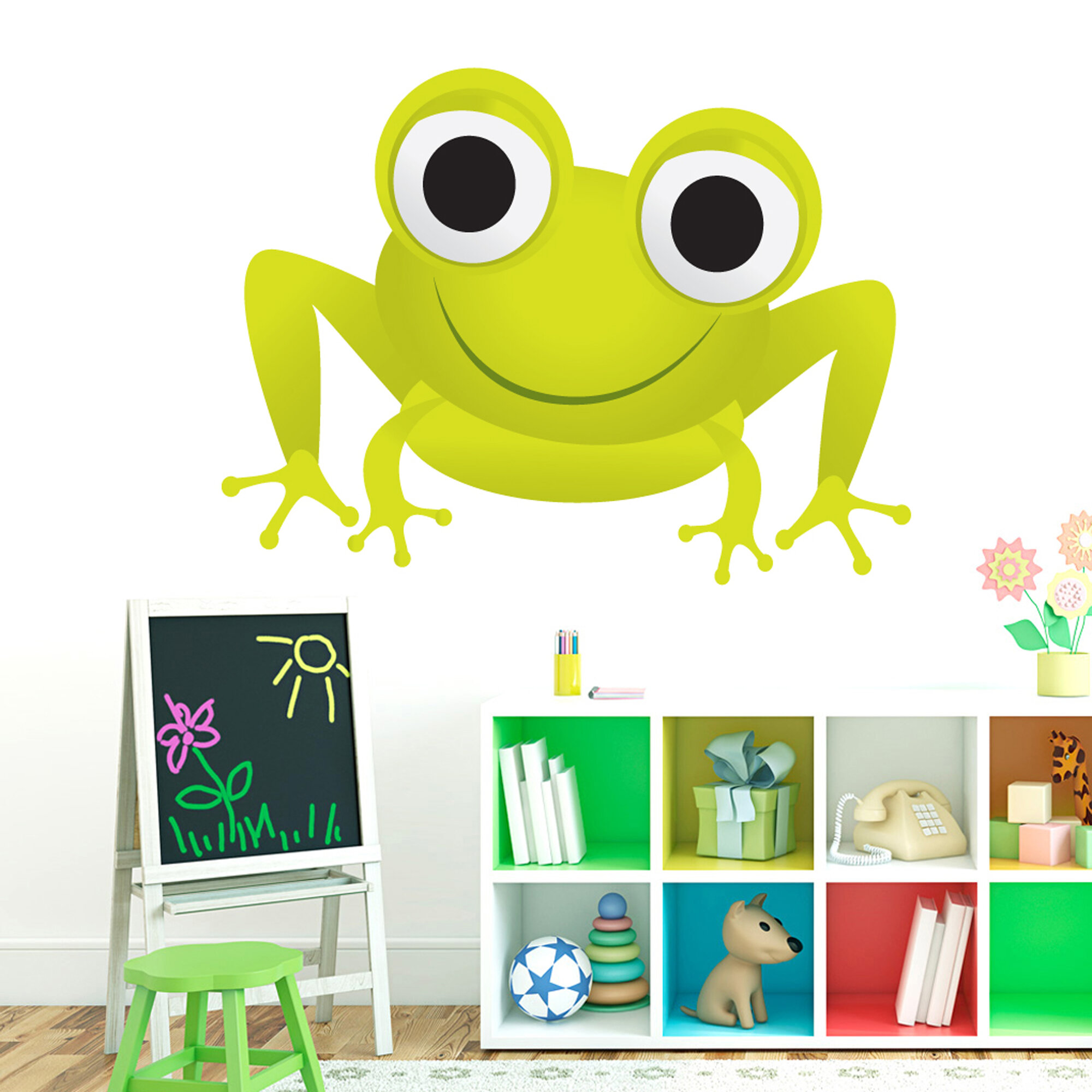 Beautiful Frog Bathroom Wall Decor Pictures Inspiration - The Wall ...