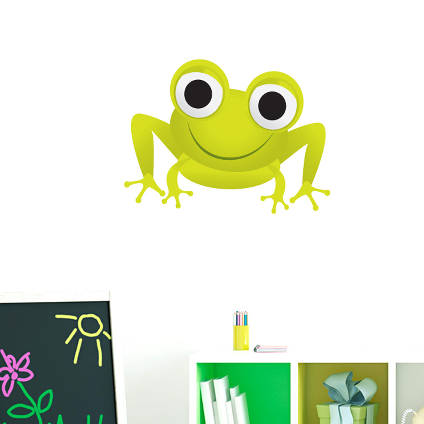 Sweetums Wall Decals Frog Printed Wall Decal | eBay
