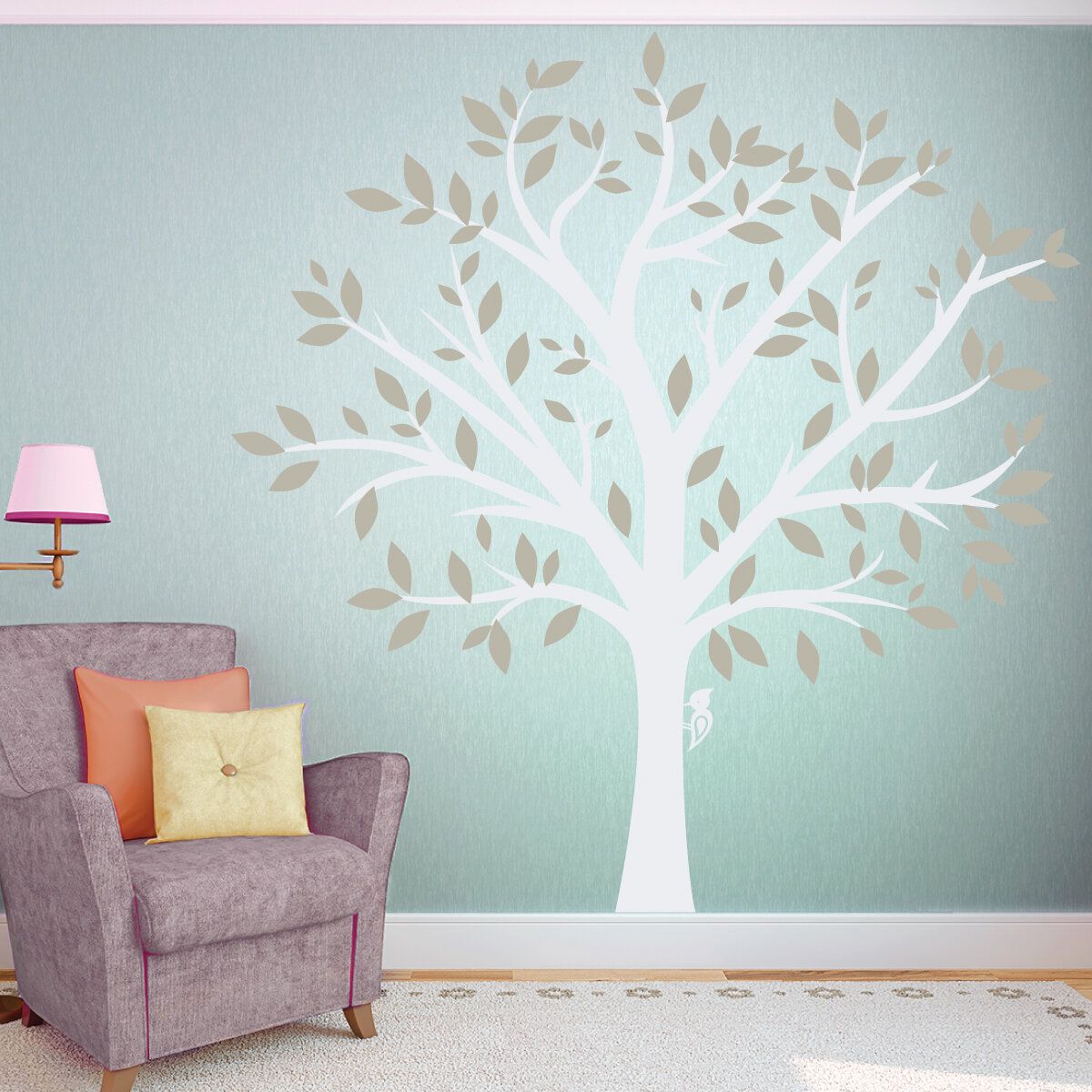 Captivating Wallums Wall Decor Large Family Tree Wall Decal. OUR SKU# WWDR1019 | MPN:  Nature Large Family Tree 84_BK_BK