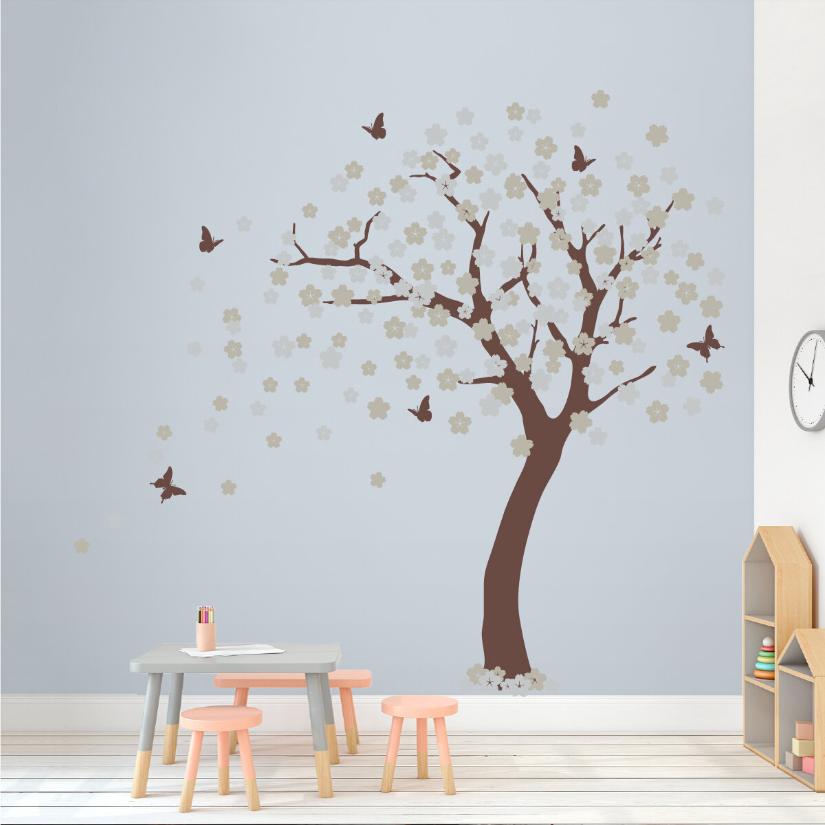 Exceptional Wallums Wall Decor Cherry Blossom Tree Wall Decal