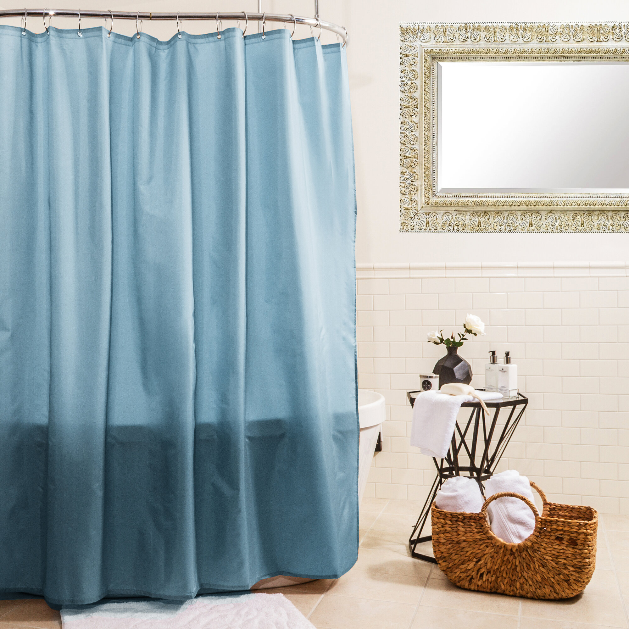 Splash Home Fabric Shower Curtain   eBay