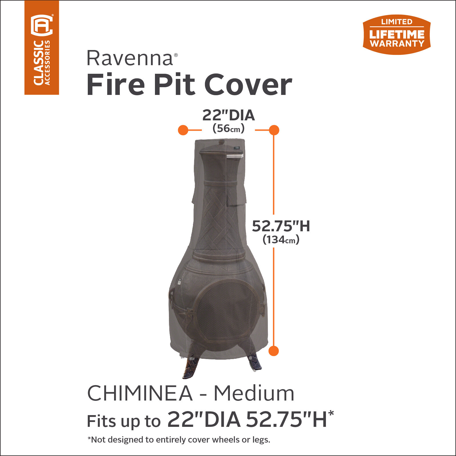 Freeport Park Outdoor Chiminea Patio Heater Cover
