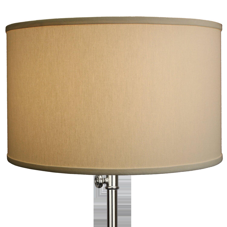 Fenchel shades 18 linen drum lamp shade ebay fenchel shades 18 034 linen drum lamp shade aloadofball Images