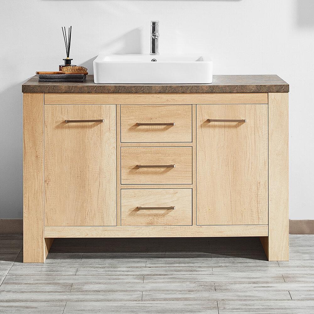 Details About Union Rustic Kemp 48 Single Bathroom Vanity Set