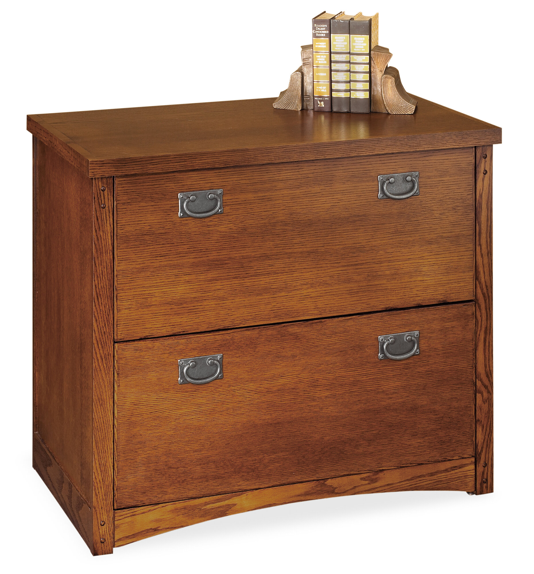 Details About Millwood Pines Benno 2 Drawer Lateral File Cabinet