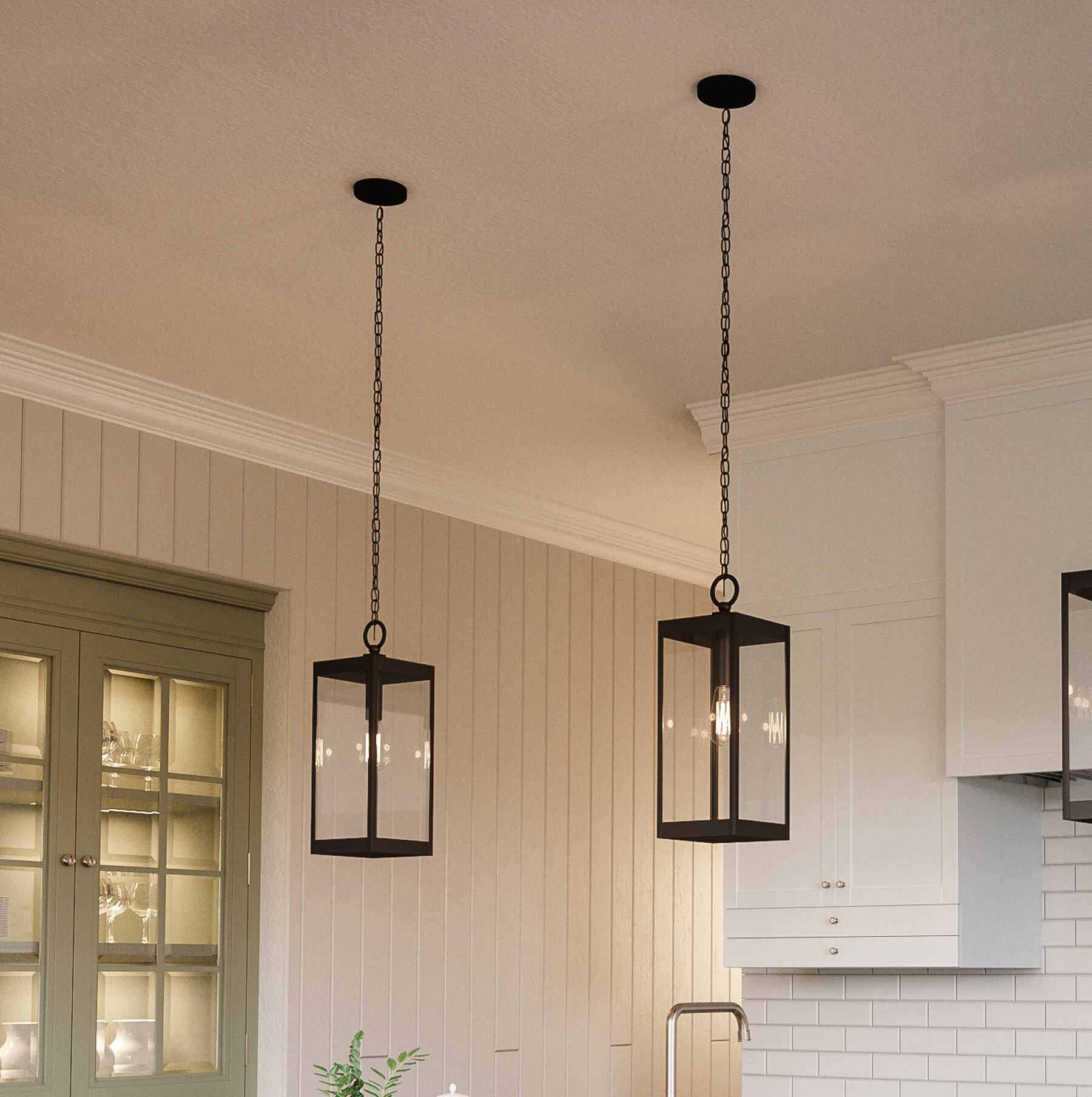 Details about gracie oaks viles 1 light outdoor hanging lantern