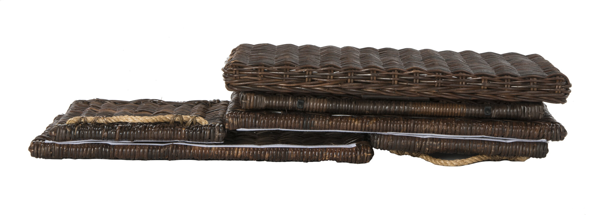Highland Dunes Altagore Wicker Storage Trunk | eBay