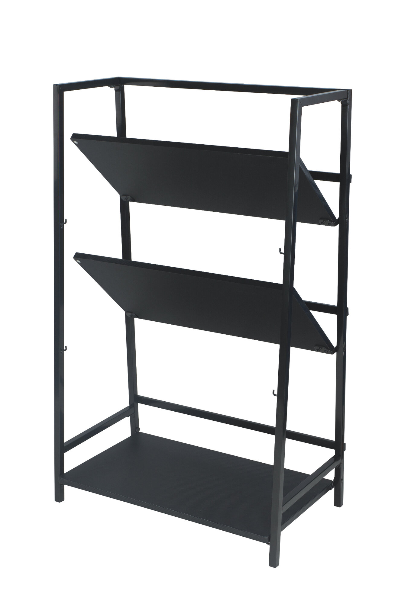 com dp view bookcases bookcase wood winsome larger stackable tier folding black shelf amazon