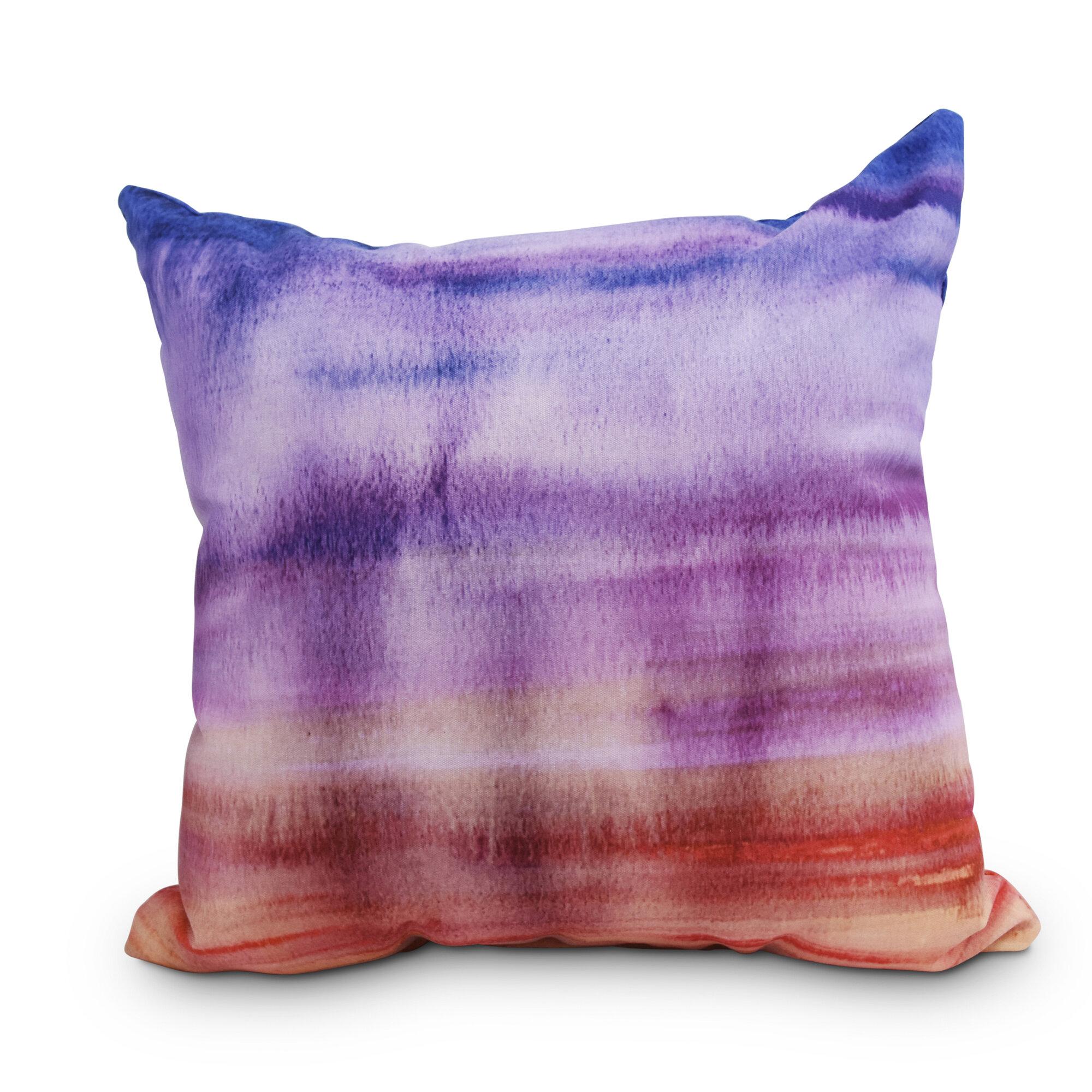 Ebern Designs Ferrel Sunset Beauty Outdoor Throw Pillow Ebay