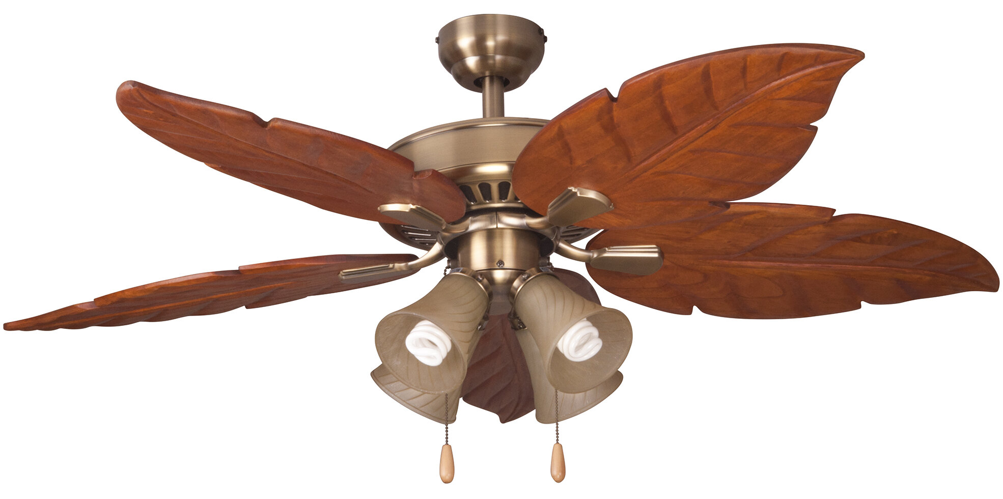 Bayou breeze 52 kay indoor 5 blade ceiling fan with remote ebay bayou breeze 52 034 kay indoor 5 blade aloadofball Images