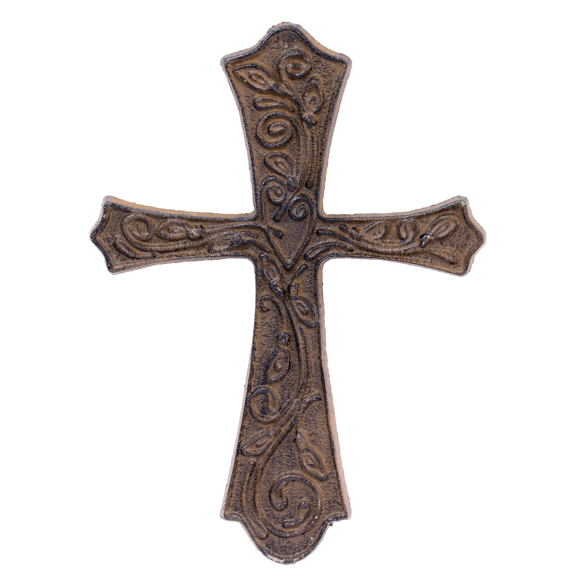 Details About Ophelia Co Large Rustic Flared Cast Metal Cross Wall Decor