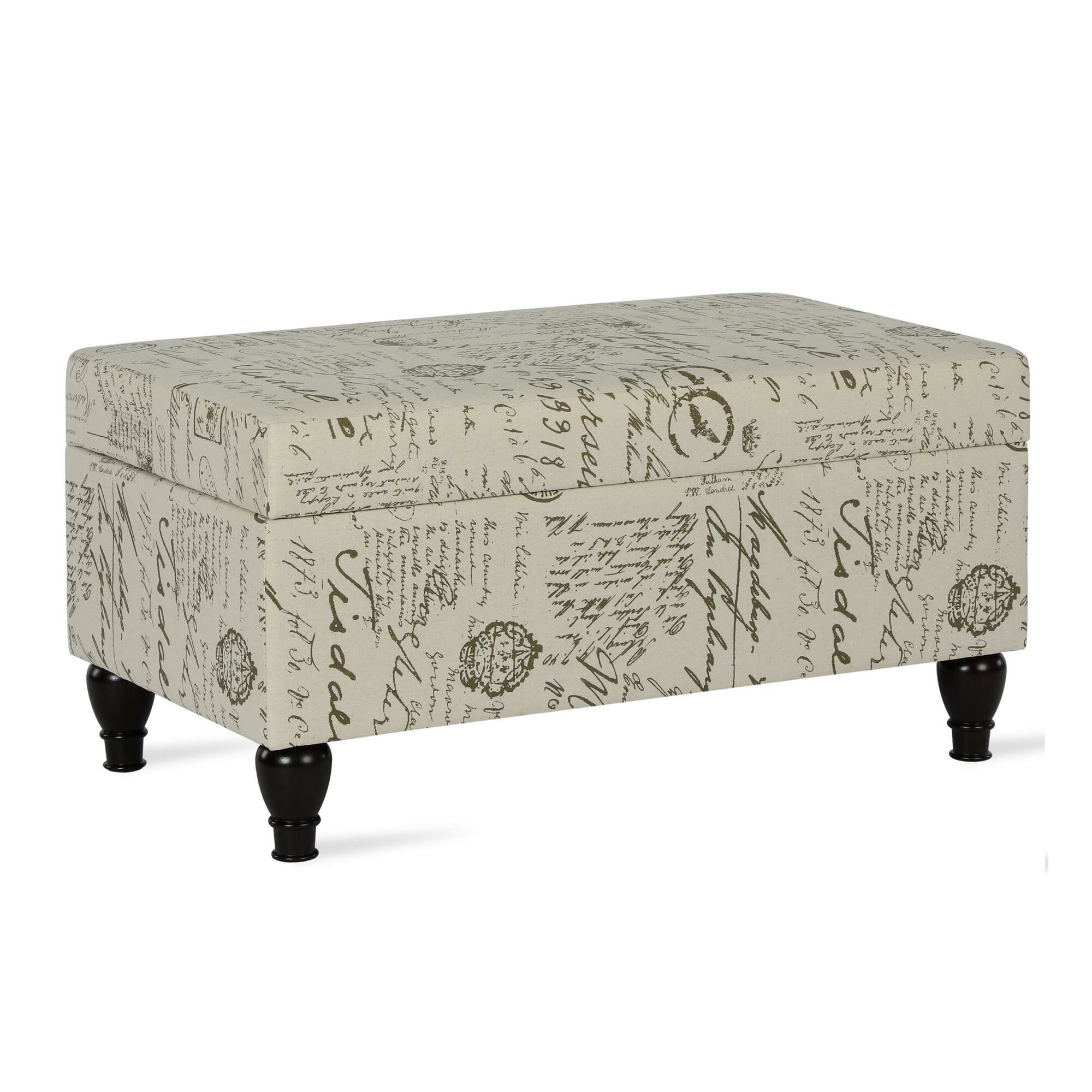 Peachy Details About Ophelia Co Bagnell Storage Ottoman Gmtry Best Dining Table And Chair Ideas Images Gmtryco