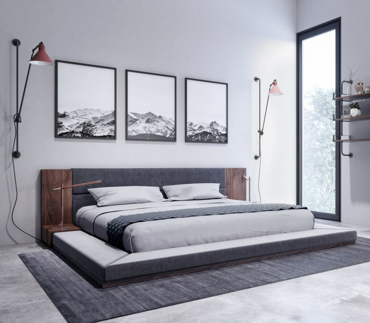 Foundry select defalco platform bed our sku fnds3324 mpn 026959c8dc364c62a2c610243bd5b8e7