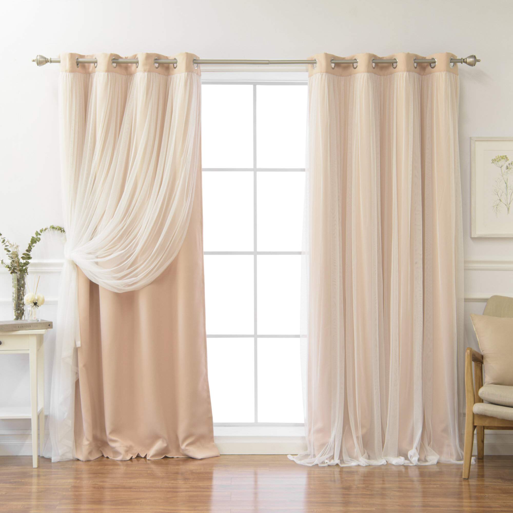 drape carousel toile standard curtains lining panels chevron pink large gray panel length and coordinating width vintage inch drapes