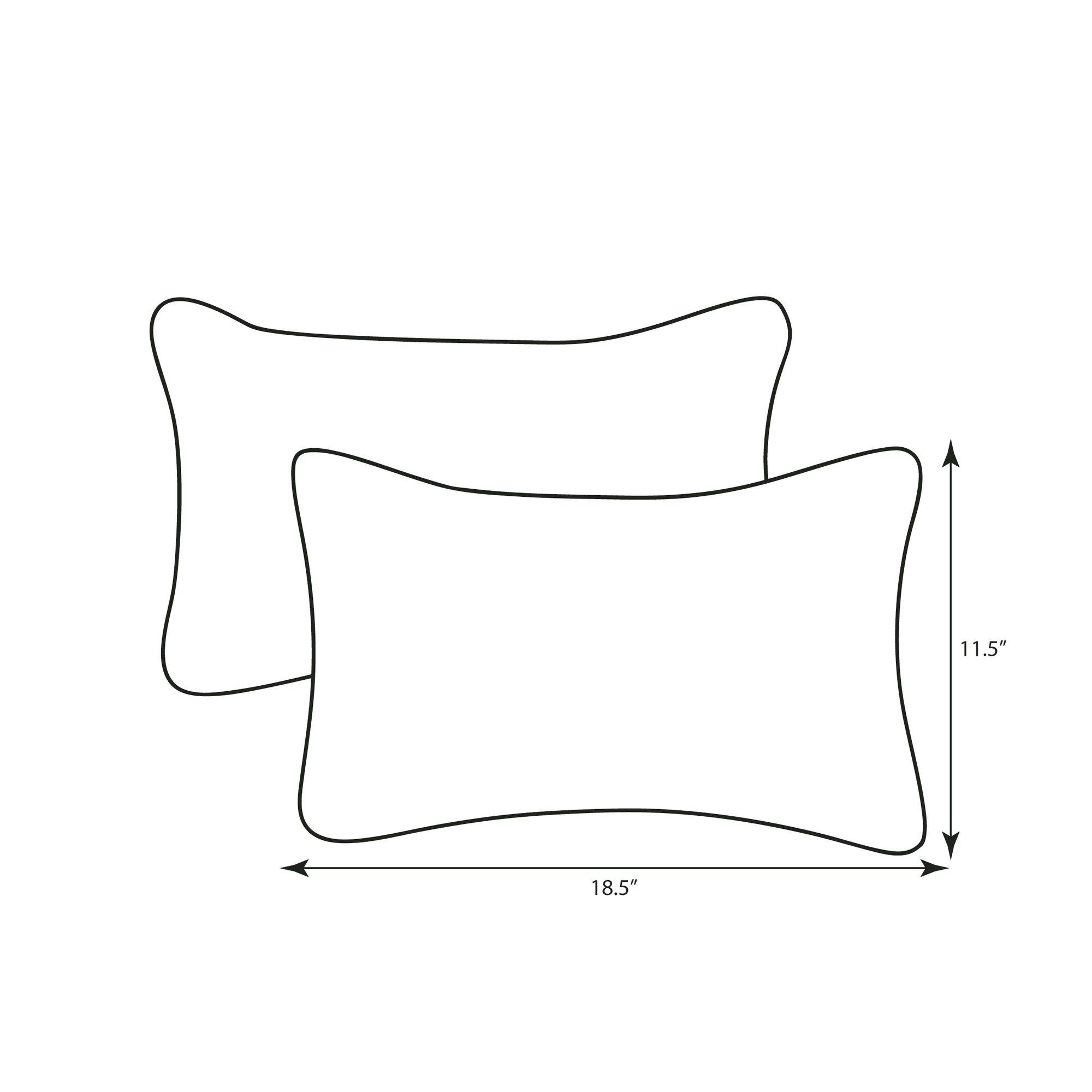 Winston Porter Sisson Indoor Outdoor Fiesta Lumbar Pillow