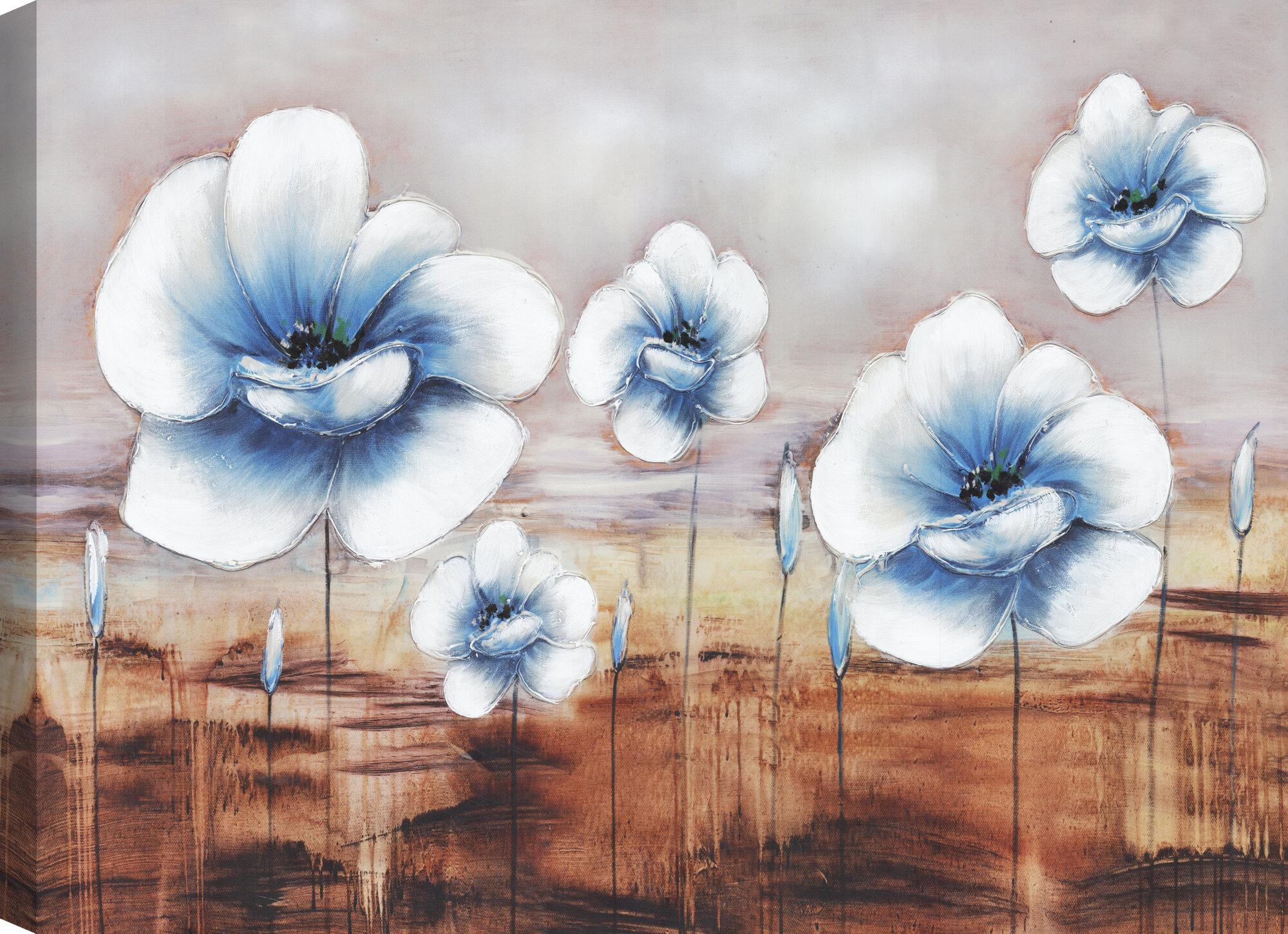 Poppy Garden by David Lorenz Winston Art Print Poster Flower Floral Photo 11x14