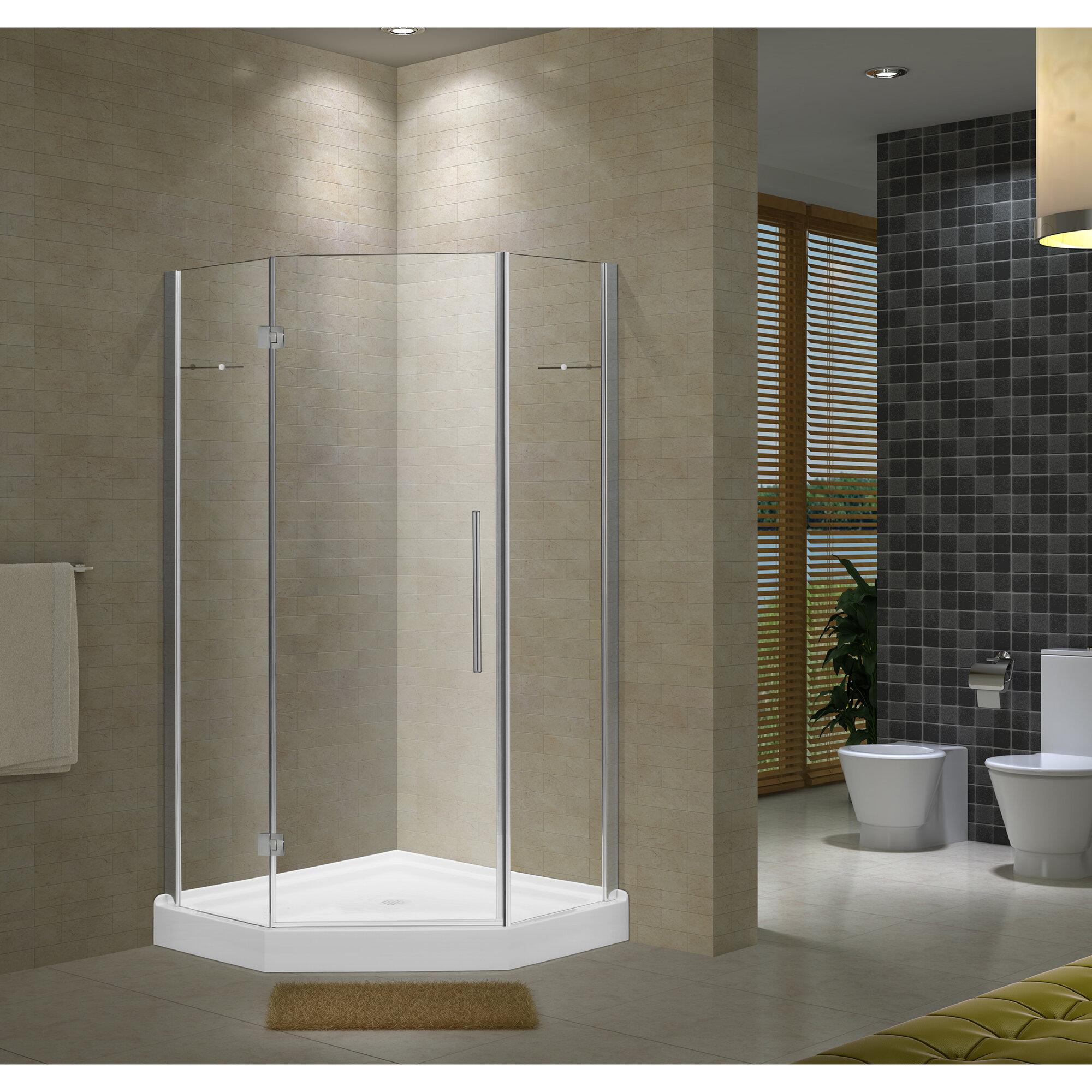 Details About Jade Bath Nova 40 X 79 Pivot Frameless Shower Door