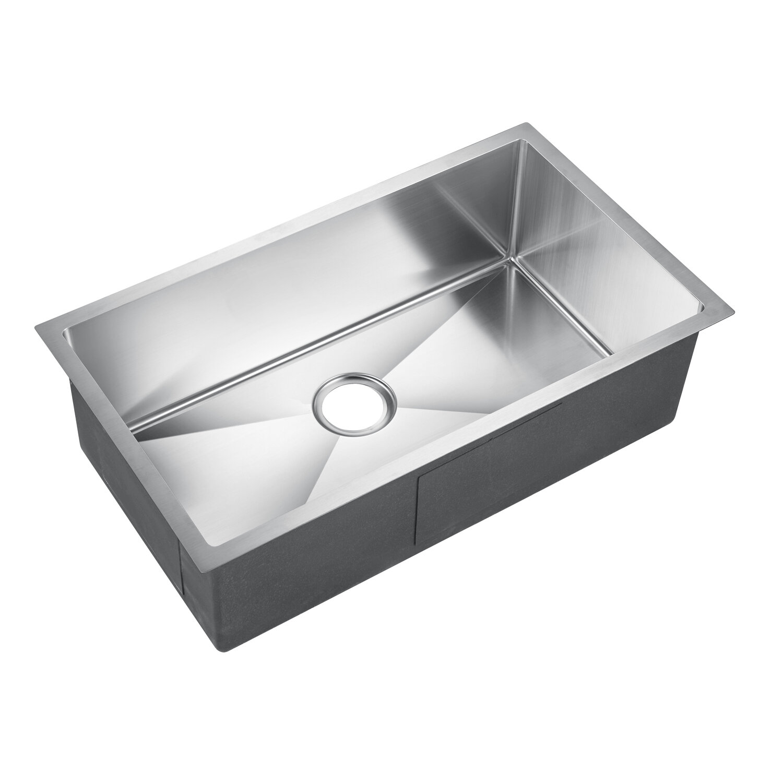 Details About Barclay Donahue Wide Rectangular 30 X 18 Undermount Kitchen Sink